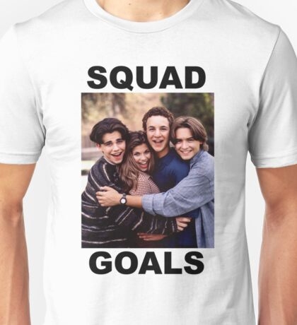Boy Meets World Squad Goals Unisex T-Shirt