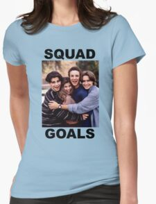Boy Meets World Squad Goals Womens Fitted T-Shirt