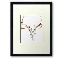 Deer Mount Framed Print