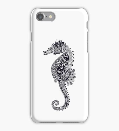 Seahorse Doodle iPhone Case/Skin