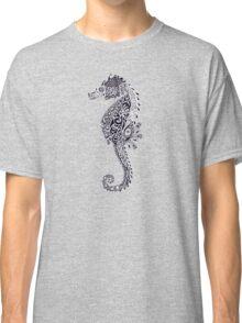 Seahorse Doodle Classic T-Shirt