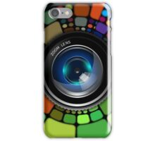 Colorful Camera Lens iPhone Case/Skin