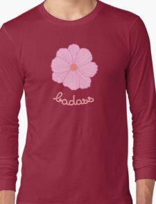 Badass - Pink Cosmos Long Sleeve T-Shirt