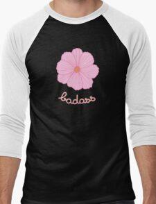 Badass - Pink Cosmos Men's Baseball ¾ T-Shirt