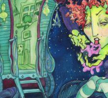 Gypsy Witch Sticker