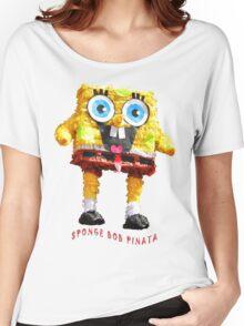 PINATA Sponge Bob Fun Women's Relaxed Fit T-Shirt