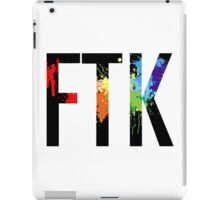 FTK Paint iPad Case/Skin