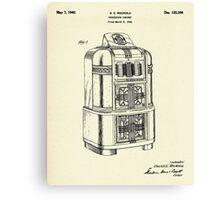 Phonograph Cabinet-1940 Canvas Print
