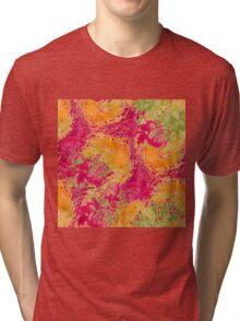 Watercolor seamless pattern Tri-blend T-Shirt