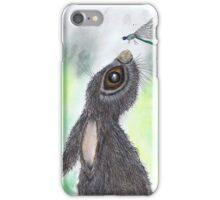 HARE AND DRAGONFLY iPhone Case/Skin