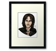 The Lord of The Rings: Aragorn/Strider Framed Print
