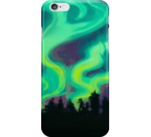 northern lights iPhone Case/Skin