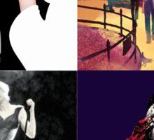 Musical Collage Sticker