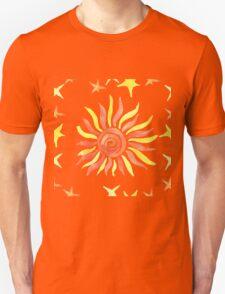 Hand drawn watercolor seamless pattern. T-Shirt
