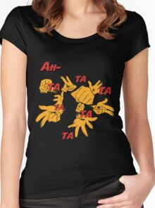 Quotes and quips - ah-tatatatatata Women's Fitted Scoop T-Shirt