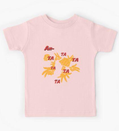 Quotes and quips - ah-tatatatatata Kids Tee