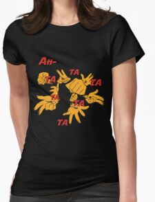 Quotes and quips - ah-tatatatatata Womens Fitted T-Shirt