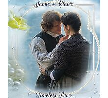 Outlander Quote/Jamie & Claire Fraser Photographic Print