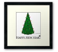 star wars. Christmas. toys. Christmas tree Framed Print