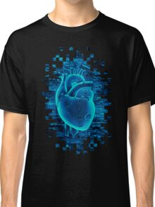 Gamer Heart BLUE TECH Classic T-Shirt