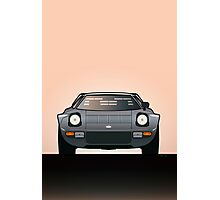 Modern Euro Icons Car Series Lancia Stratos HF Tipo 829 Photographic Print