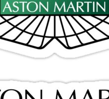 Aston Martin Logo Sticker