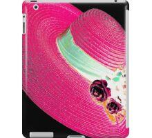 woman's hat iPad Case/Skin