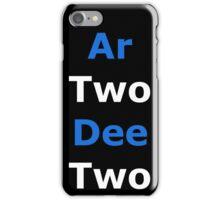 Phonetic R2-D2 iPhone Case/Skin
