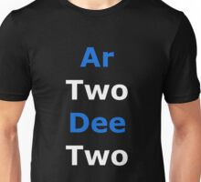 Phonetic R2-D2 Unisex T-Shirt