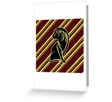 Godric's Lion Greeting Card
