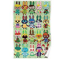 Rabbit Crossing Poster
