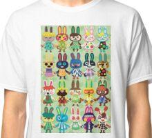 Rabbit Crossing Classic T-Shirt