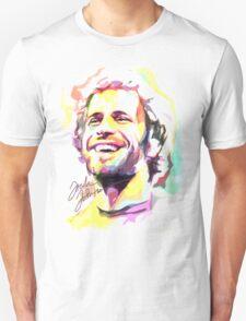 Jack Johnson in Watercolor Unisex T-Shirt