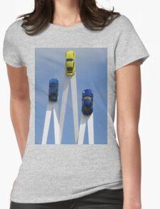 Porsche 911 Sculpture Womens Fitted T-Shirt