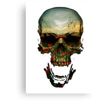 Field of Skull Canvas Print