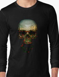 Field of Skull Long Sleeve T-Shirt