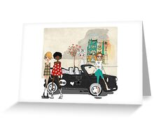 Fashion Girls Greeting Card