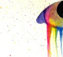 Melting Rainbows Sticker