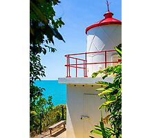 Cute Little Red Lighthouse Photographic Print