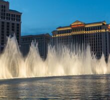 The Fabulous Fountains at Bellagio, Las Vegas Sticker