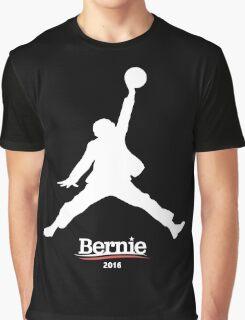 Bernie Sanders Jumpman - Slam Dunk Graphic T-Shirt