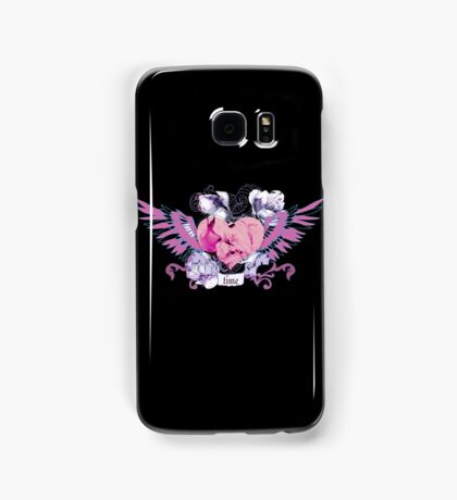 Abstract mix with heart with wings. Tattoo style Samsung Galaxy Case/Skin
