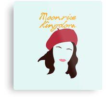 Moonrise Kingdom is Suzy Bishop Metal Print