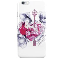Abstract mix with heart with wings iPhone Case/Skin