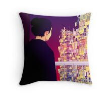Art Party - The Grass is Greener Throw Pillow
