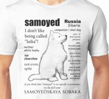 Samoyed. FAQ. Unisex T-Shirt