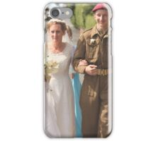 GETTING MARRIED iPhone Case/Skin