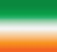 Green, White and Orange (Ireland) by StudioBlack
