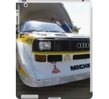 Audi Quattro Group B WRC iPad Case/Skin