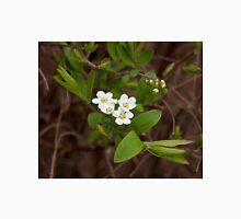 White Spring Flower Unisex T-Shirt